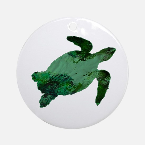 TURTLE Round Ornament