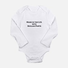 Cute Panama baby Long Sleeve Infant Bodysuit
