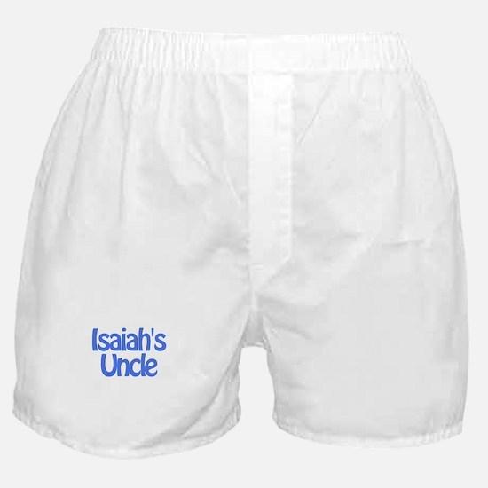 Isaiah's Uncle Boxer Shorts