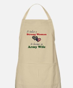 Strong Woman A BBQ Apron