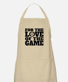 For The Love Of The Game Basketball Apron