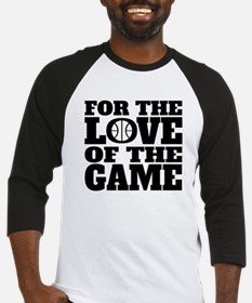 For The Love Of The Game Basketball Baseball Jerse