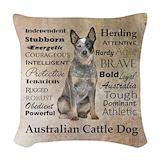 Australian cattle Woven Pillows