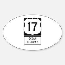 US Route 17 Ocean Highway Decal