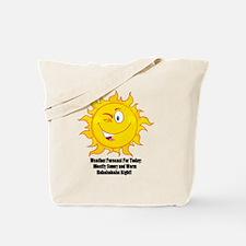 Unique Weatherman Tote Bag