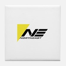 Northeast Airlines Brand Tile Coaster