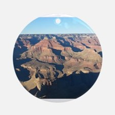South Rim Grand Canyon Overlook Round Ornament