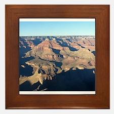 South Rim Grand Canyon Overlook Framed Tile