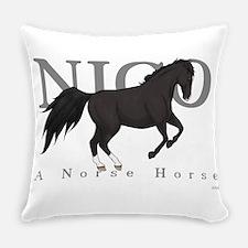 Cute Nico Everyday Pillow
