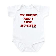 MY DADDY AND I LOVE JIU-JITSU Onesie