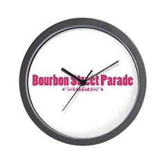 Bourbon Street Parade Wall Clock