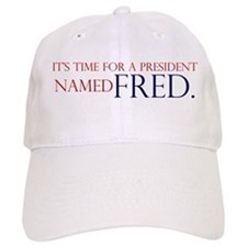 Time for Fred Baseball Cap