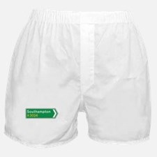 Southampton Roadmarker, UK Boxer Shorts