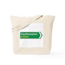 Southampton Roadmarker, UK Tote Bag
