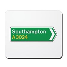 Southampton Roadmarker, UK Mousepad