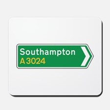 Southampton Roadmarker, UK Mousepad