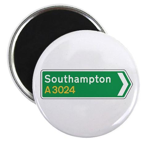 "Southampton Roadmarker, UK 2.25"" Magnet (100 pack)"