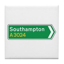 Southampton Roadmarker, UK Tile Coaster