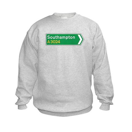 Southampton Roadmarker, UK Kids Sweatshirt