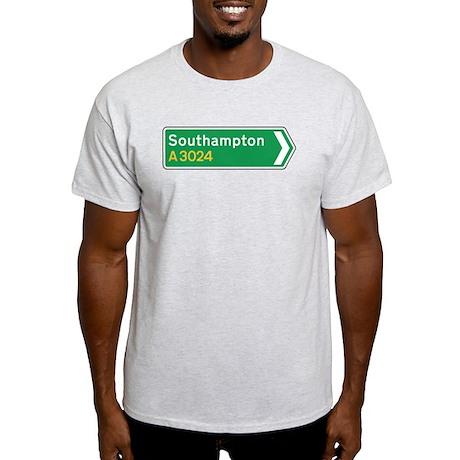 Southampton Roadmarker, UK Light T-Shirt