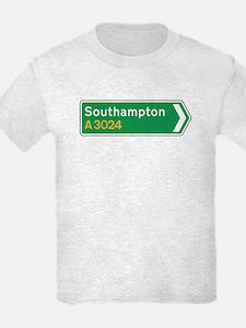 Southampton Roadmarker, UK T-Shirt