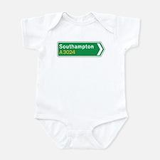 Southampton Roadmarker, UK Infant Bodysuit