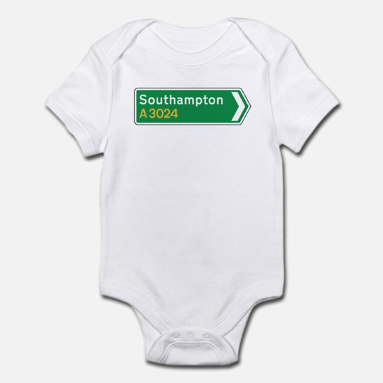 Southampton Roadmarker, UK Infant Bodysuit