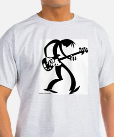 Unique Electric bass guitar T-Shirt