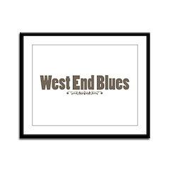 West End Blues Framed Panel Print