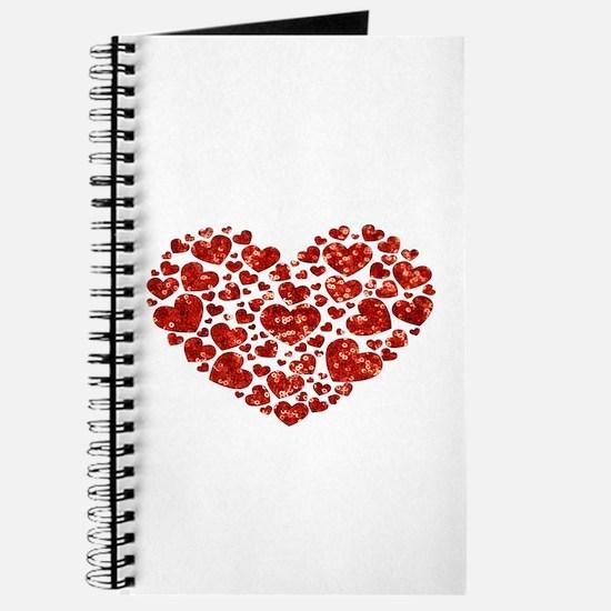 valentines day heart Journal