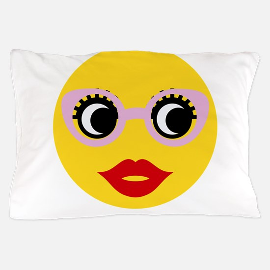 Pretty Smart Emoji Pillow Case