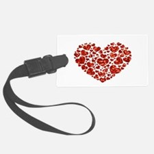 valentines day heart Luggage Tag