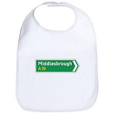 Middlesbrough Roadmarker, UK Bib