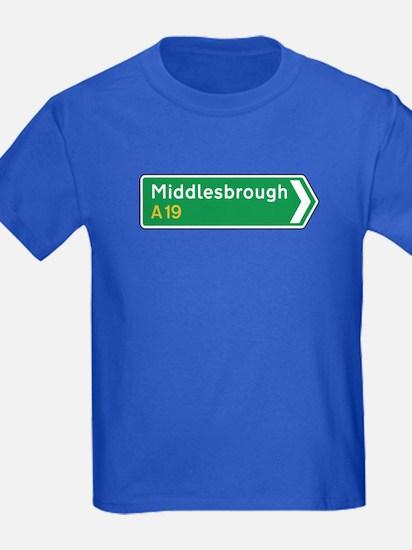 Middlesbrough Roadmarker, UK T