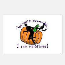halloween runner Postcards (Package of 8)