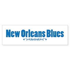 New Orleans Blues Bumper Bumper Sticker