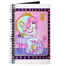 Suzette Pink Poodle Journal