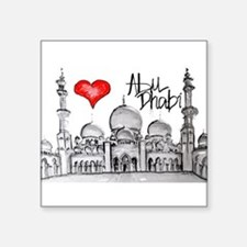 I love Abu Dhabi Sticker