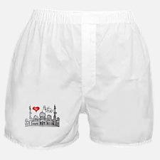I love Abu Dhabi Boxer Shorts