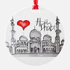 I love Abu Dhabi Ornament