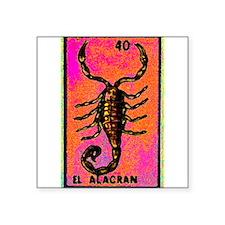 """Cool Chicano Square Sticker 3"""" x 3"""""""
