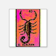 """Unique Mexican culture Square Sticker 3"""" x 3"""""""