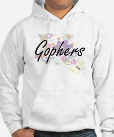 Gophers artistic design with flo Hoodie
