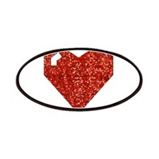 pixel valentines day heart Patch