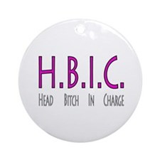 HBIC Ornament (Round)