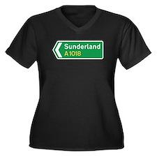 Sunderland Roadmarker, UK Women's Plus Size V-Neck
