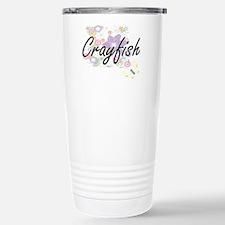 Crayfish artistic desig Travel Mug
