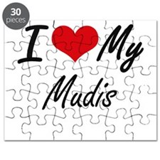 I Love my Mudis Puzzle