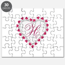 Heart Monogram by LH Puzzle
