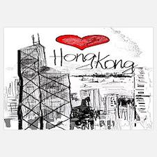 Unique Hong kong Wall Art